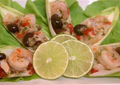 Baccala and Shrimp Salad