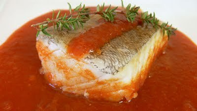 Basque Style Salt Cod