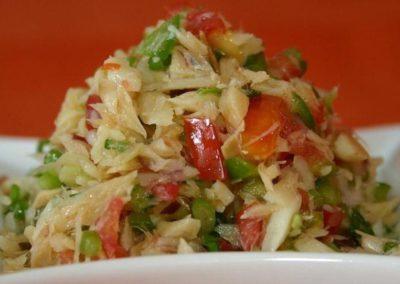 Chilled Saltfish Salad