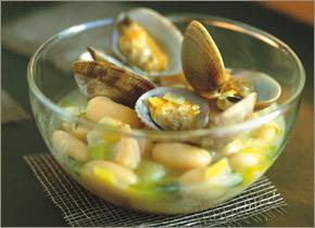Salt Cod & Clam Stew