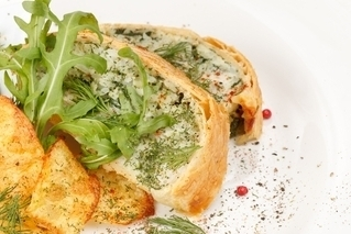 Spinach and Cod Pie